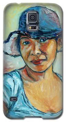 My First Self-portrait Galaxy S5 Case