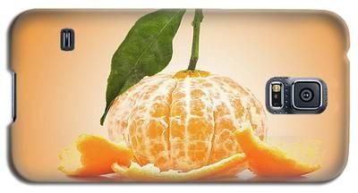 Naked Orange Galaxy S5 Case