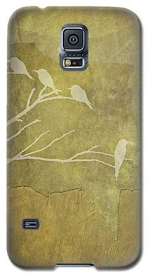 Nature Study In Gold  Galaxy S5 Case