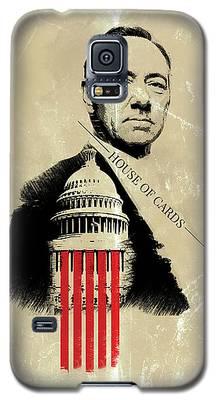 Netflix House Of Cards Frank Underwood Portrait  Galaxy S5 Case