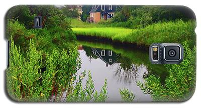 New England House And Stream Galaxy S5 Case