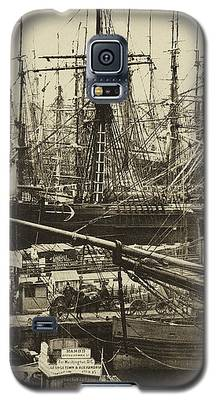 New York City Docks - 1800s Galaxy S5 Case
