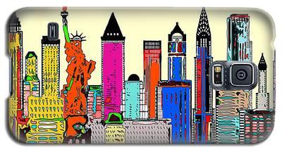 New York - The Big City Galaxy S5 Case