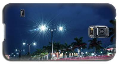Night Lights In Montego Bay City Galaxy S5 Case