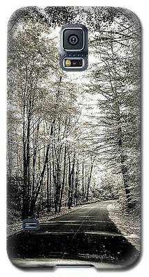 October Grayscale  Galaxy S5 Case