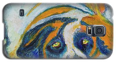 Orange Bernard Galaxy S5 Case