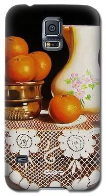 Orange You Sweet  Galaxy S5 Case