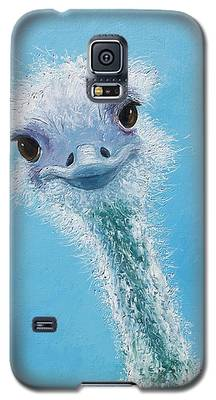 Ostrich Painting Galaxy S5 Case