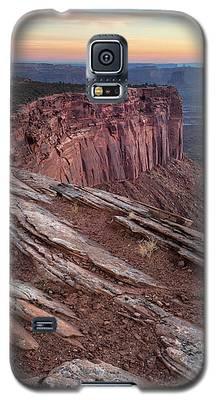 Peaceful Canyon Morning Galaxy S5 Case