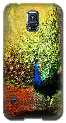 Peacock In Full Color Galaxy S5 Case