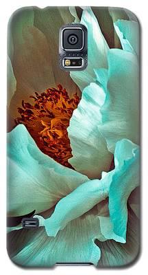 Peony Flower Galaxy S5 Case