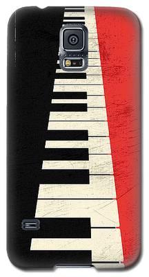 Piano Keys Galaxy S5 Case