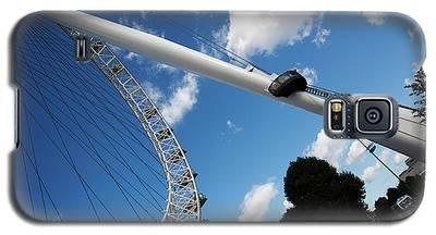 Pillar Of London S Ferris Wheel  Galaxy S5 Case