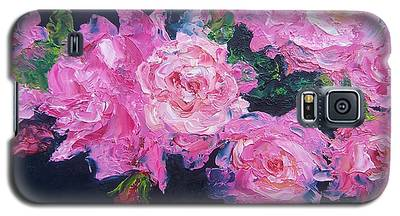 Pink Roses Oil Painting Galaxy S5 Case