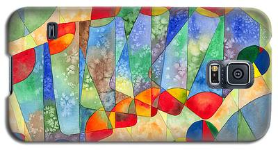 Poker Abstract Watercolor Galaxy S5 Case