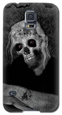 Portrait Of A Zombie Galaxy S5 Case