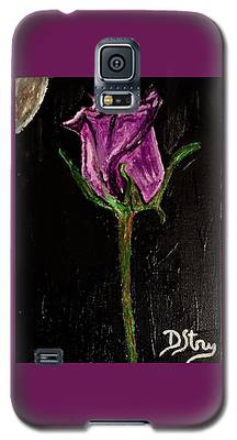 Purple Under The Moon's Glow Galaxy S5 Case