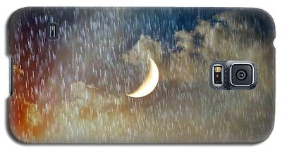 Rain Fall Galaxy S5 Case