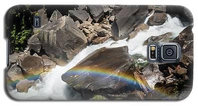 Rainbow At Vernal Falls- Galaxy S5 Case