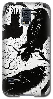 Raven Galaxy S5 Cases