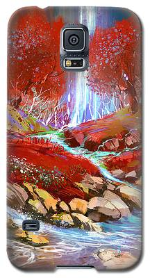 Red Forest Galaxy S5 Case