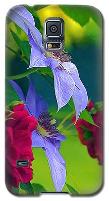 Red Meets Lavender Galaxy S5 Case