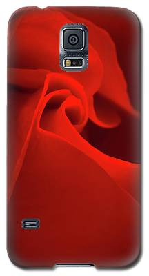 Red Rose Macro Galaxy S5 Case