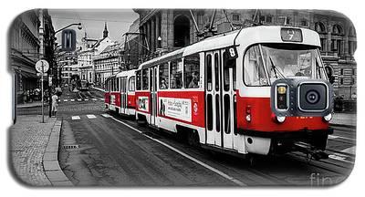 Prague - Red Tram Galaxy S5 Case
