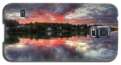 Reflections Of A Summer Sky Galaxy S5 Case