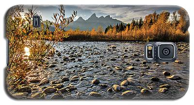 River In The Tetons Galaxy S5 Case