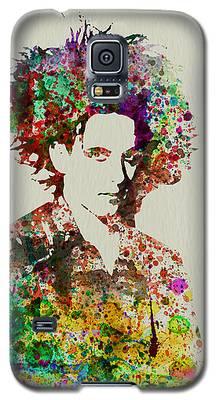 Robert Smith Music Galaxy S5 Cases