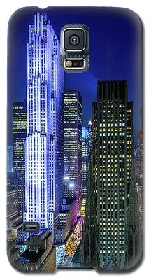Rockefeller At Night Galaxy S5 Case