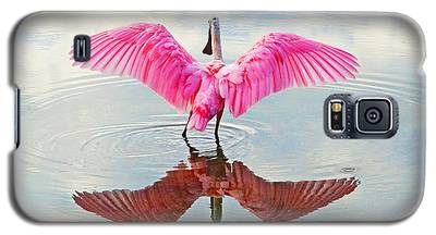 Roseate Spoonbill Pink Angel Galaxy S5 Case