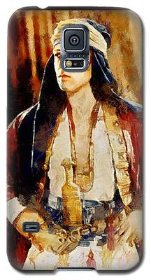 Rudolph Valentino As The Sheikh Galaxy S5 Case