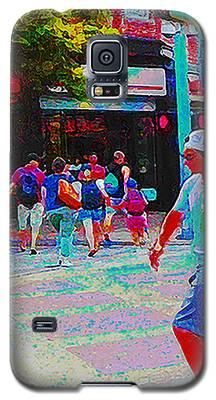 Santa Monica Promenade Galaxy S5 Case