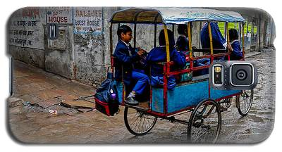 School Cart Galaxy S5 Case