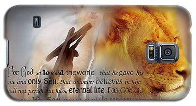 Scripture Art    Lamb Of God Galaxy S5 Case