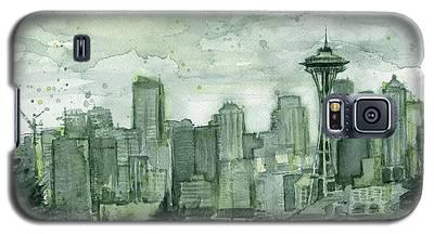 Seattle Skyline Galaxy S5 Cases