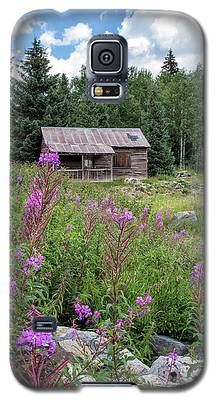 Shack With Fireweed Galaxy S5 Case