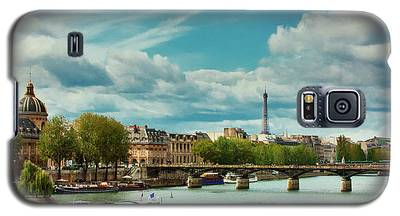 Sightseeing On The River Seine Galaxy S5 Case