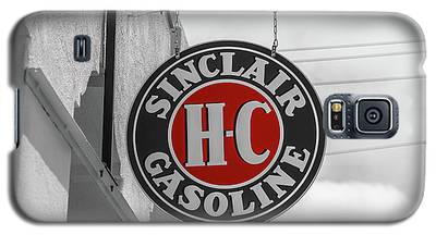 Sinclair Gasoline Round Sign In Selective Color Galaxy S5 Case