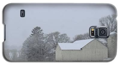 Winter White Farm Galaxy S5 Case