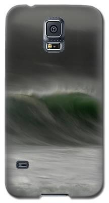 Soft Curl Galaxy S5 Case