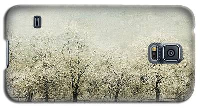 Softly Falling Snow Galaxy S5 Case