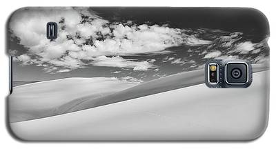 Southwest Sands Of Colorado In Black And White Galaxy S5 Case