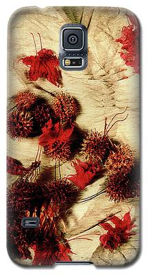 Spiked Nuts Red Galaxy S5 Case