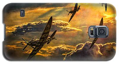 Spitfire Attack Galaxy S5 Case