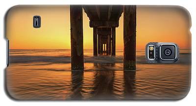 St Augustine Beach Pier Morning Light Galaxy S5 Case