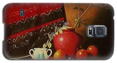 Still Life With Red Vase. Galaxy S5 Case