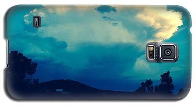 Storm Over Santa Fe Galaxy S5 Case